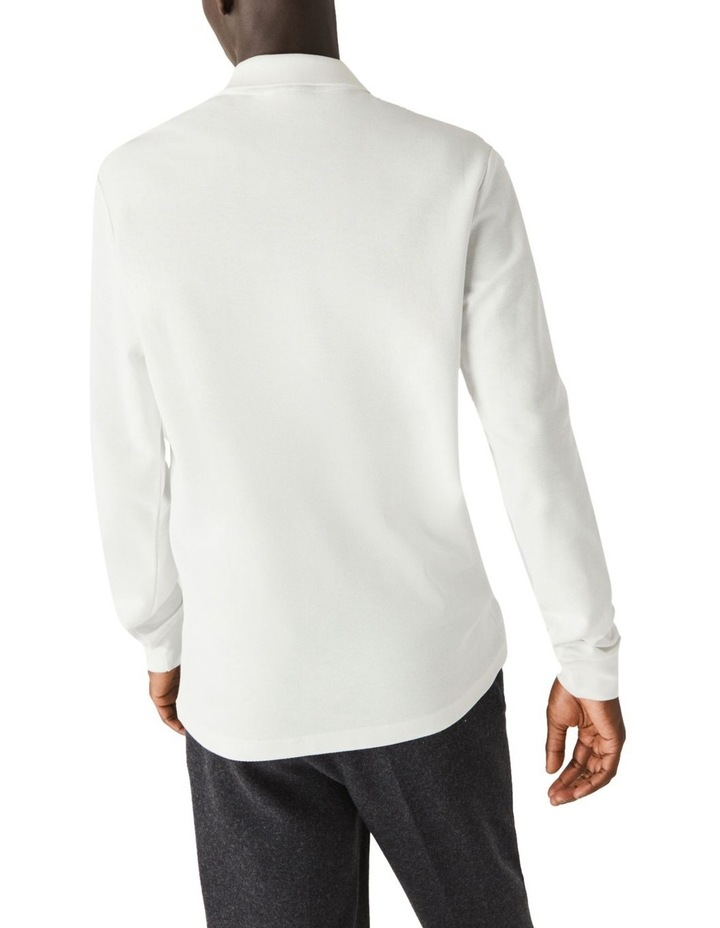 Graphic Long Sleeve Polo image 5