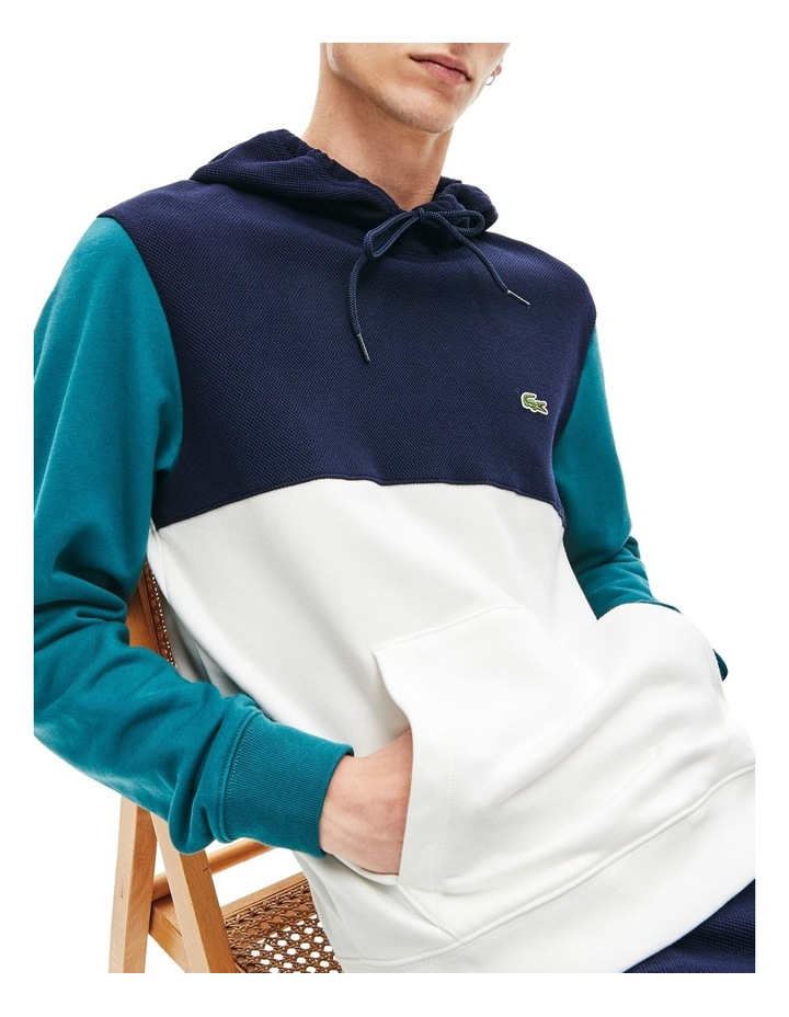 Colour Block Hooded Sweat image 1