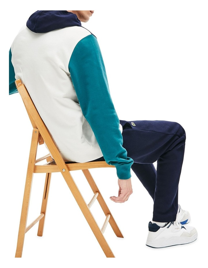 Colour Block Hooded Sweat image 2