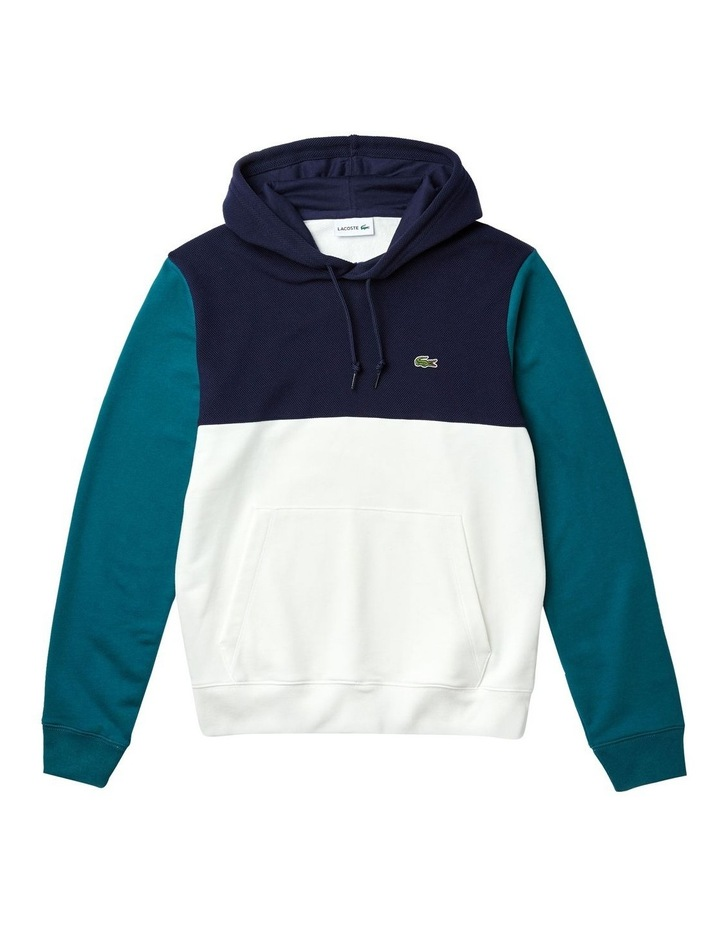 Colour Block Hooded Sweat image 3