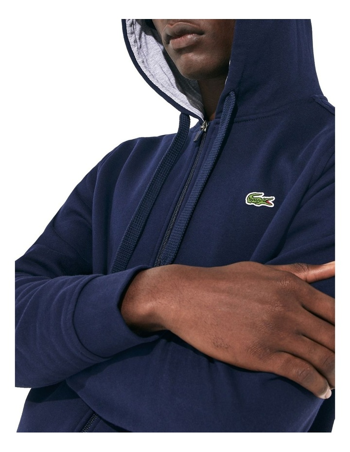 Training Non Brushed Zip Front Sweat image 5