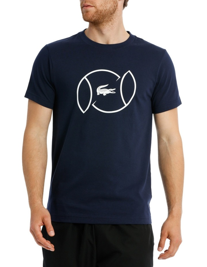 Tennis Ball Logo Tee image 1