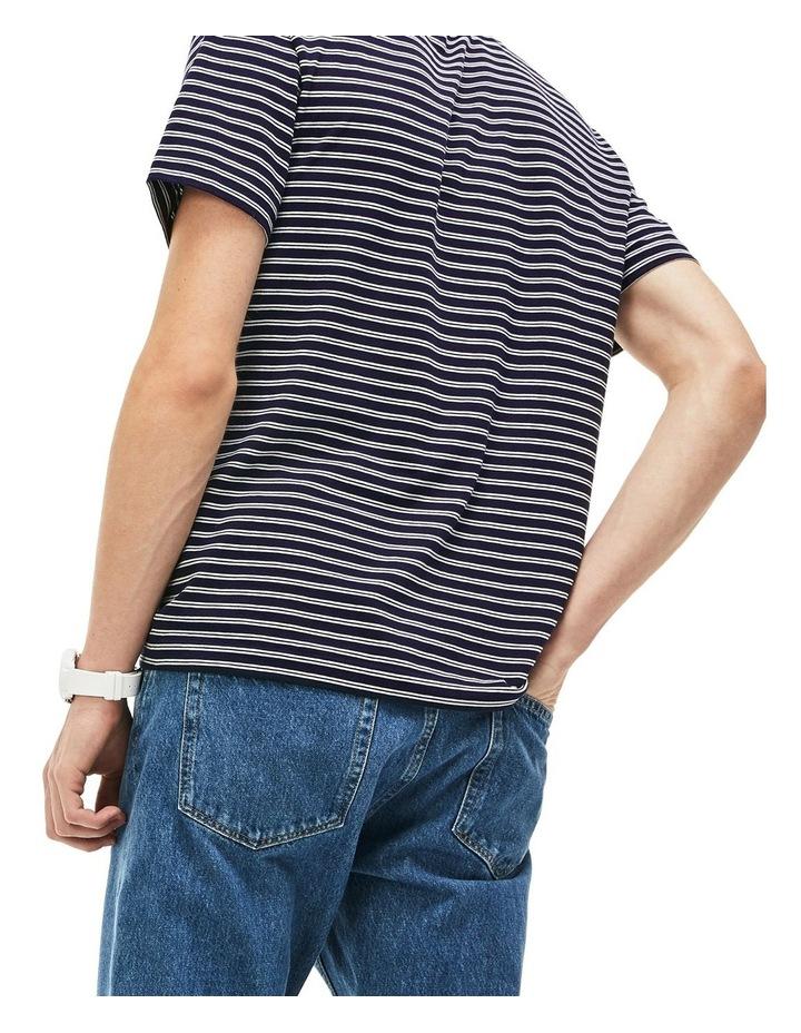 Crew Neck Stripe Tee image 2