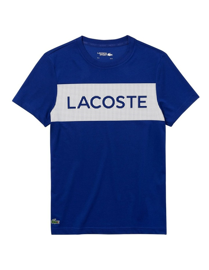 Training Lacoste Panel Tee image 4