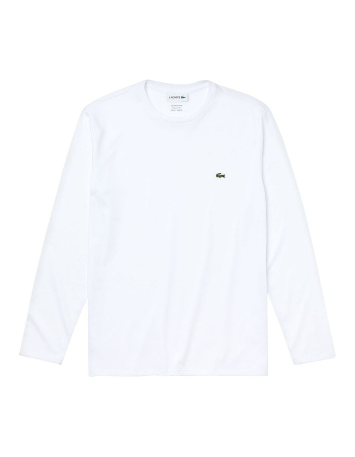 Basic Crew Neck Pima Long Sleeve image 5