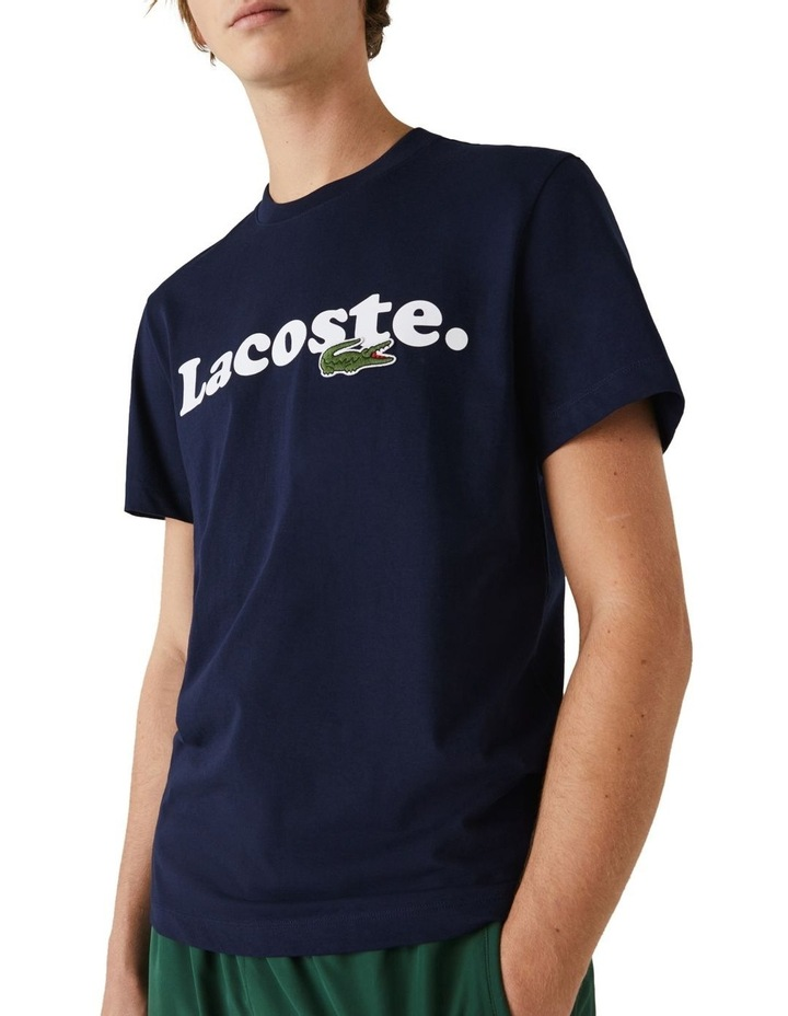 Lacoste Wording Jersey T-Shirt image 1