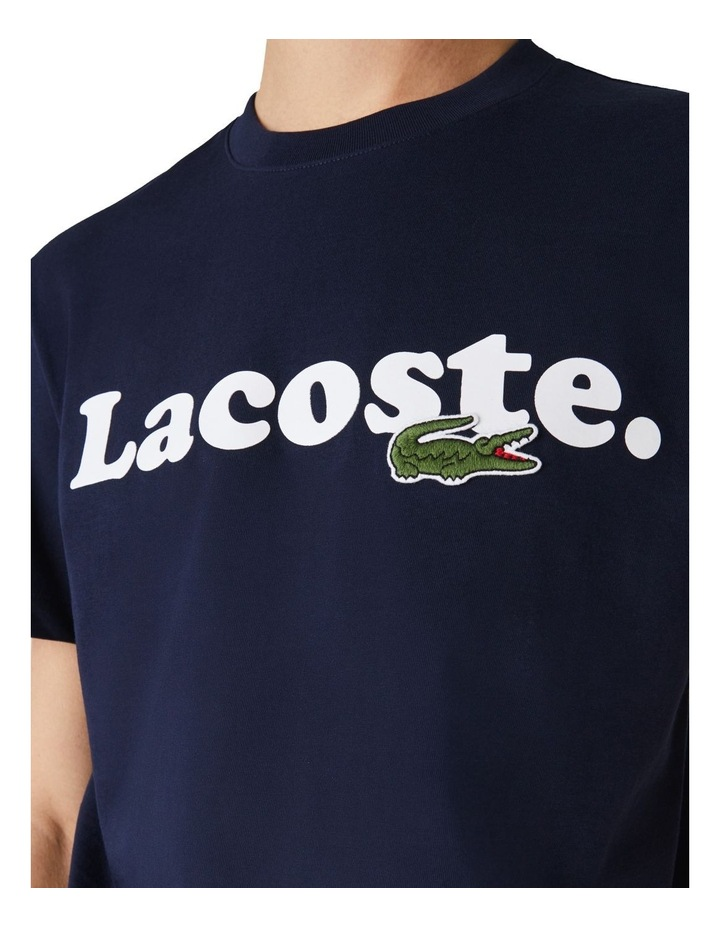 Lacoste Wording Jersey T-Shirt image 3
