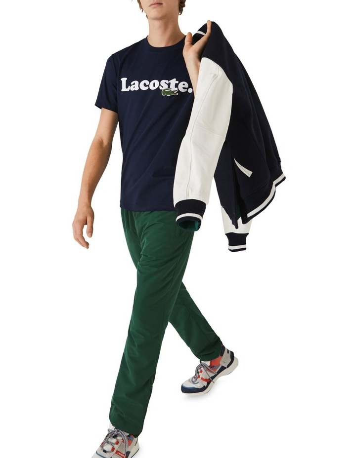 Lacoste Wording Jersey T-Shirt image 4
