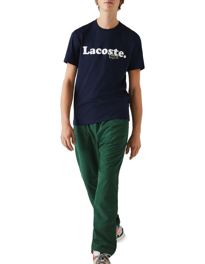 Lacoste Wording Jersey T-Shirt image 5
