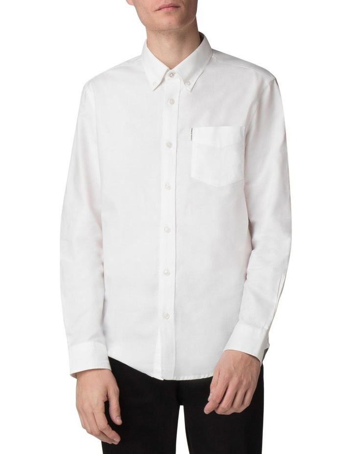 Long Sleeve Classic Oxford White image 1