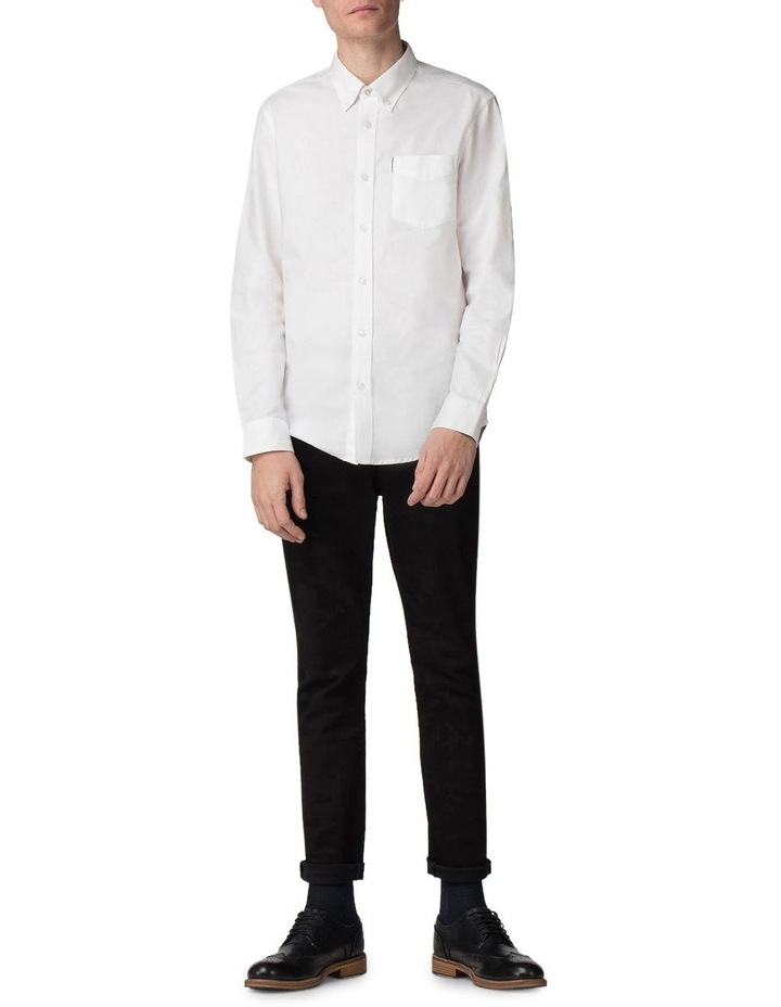 Long Sleeve Classic Oxford White image 4