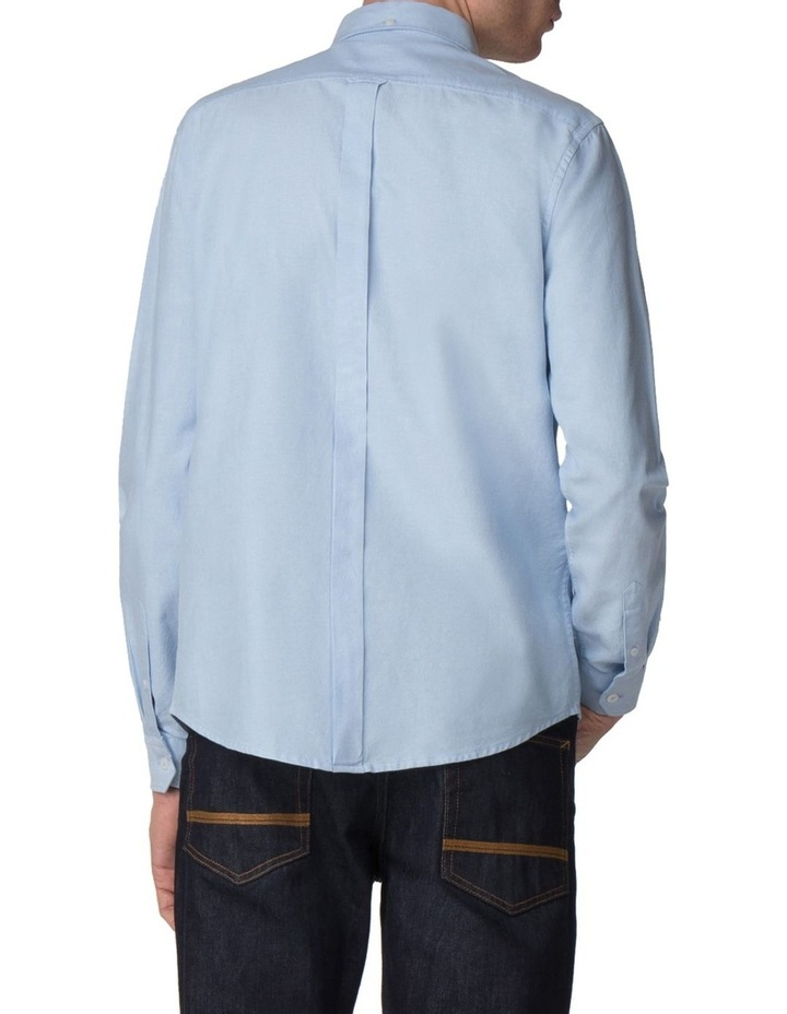 Long Sleeve Classic Oxford Blue Shadow image 2