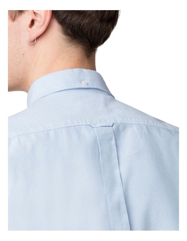 Long Sleeve Classic Oxford Blue Shadow image 4