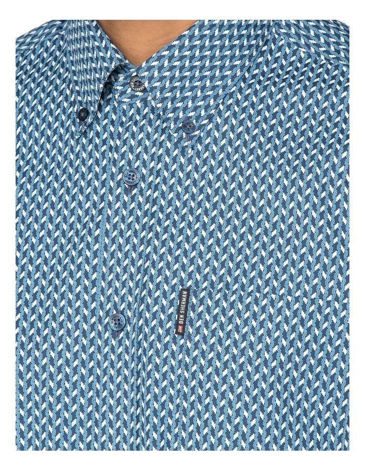 Duo Tone Geo Long Sleeve Shirt image 2