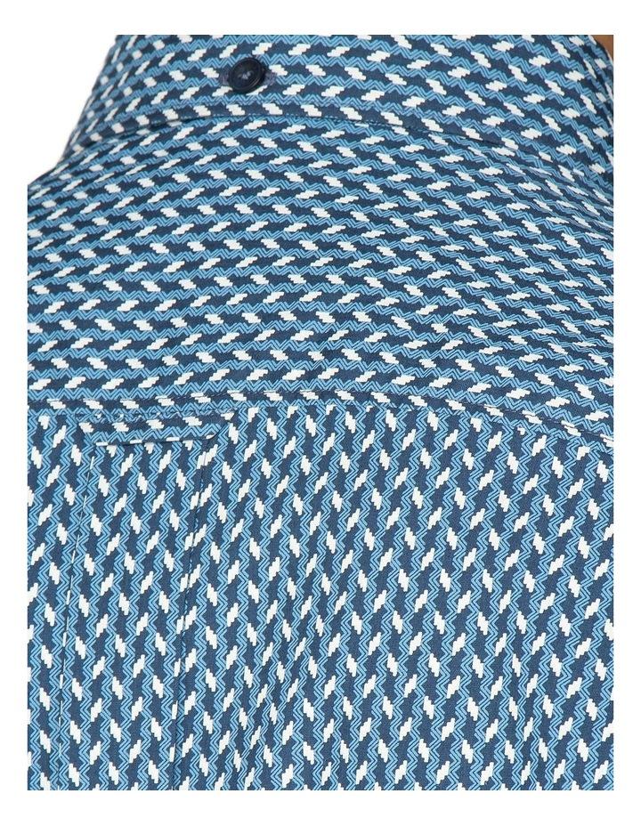 Duo Tone Geo Long Sleeve Shirt image 3
