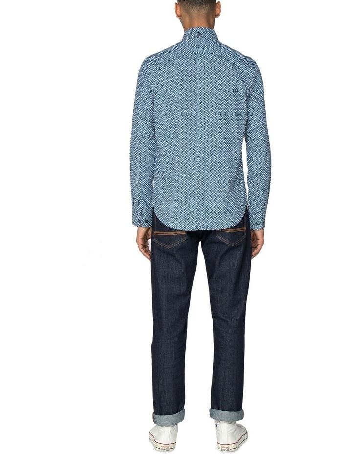 Duo Tone Geo Long Sleeve Shirt image 6