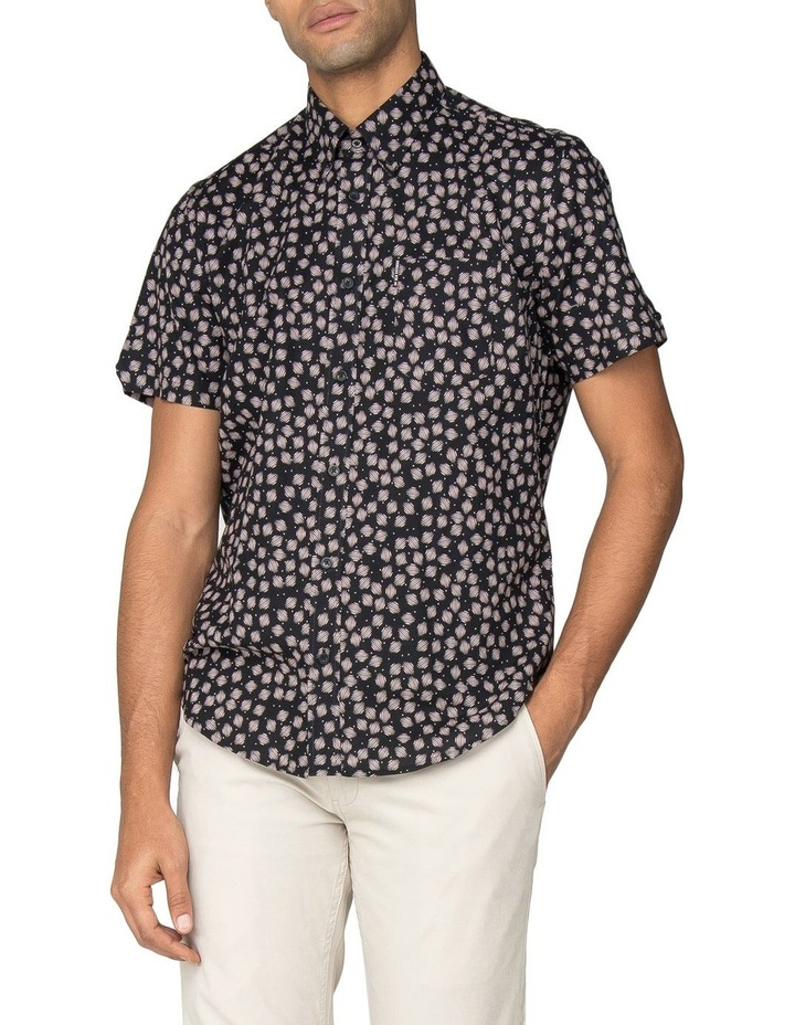 Scattered Scratch Geo Short Sleeve Shirt image 1