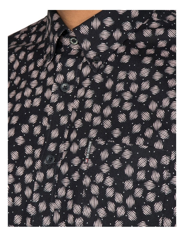Scattered Scratch Geo Short Sleeve Shirt image 2