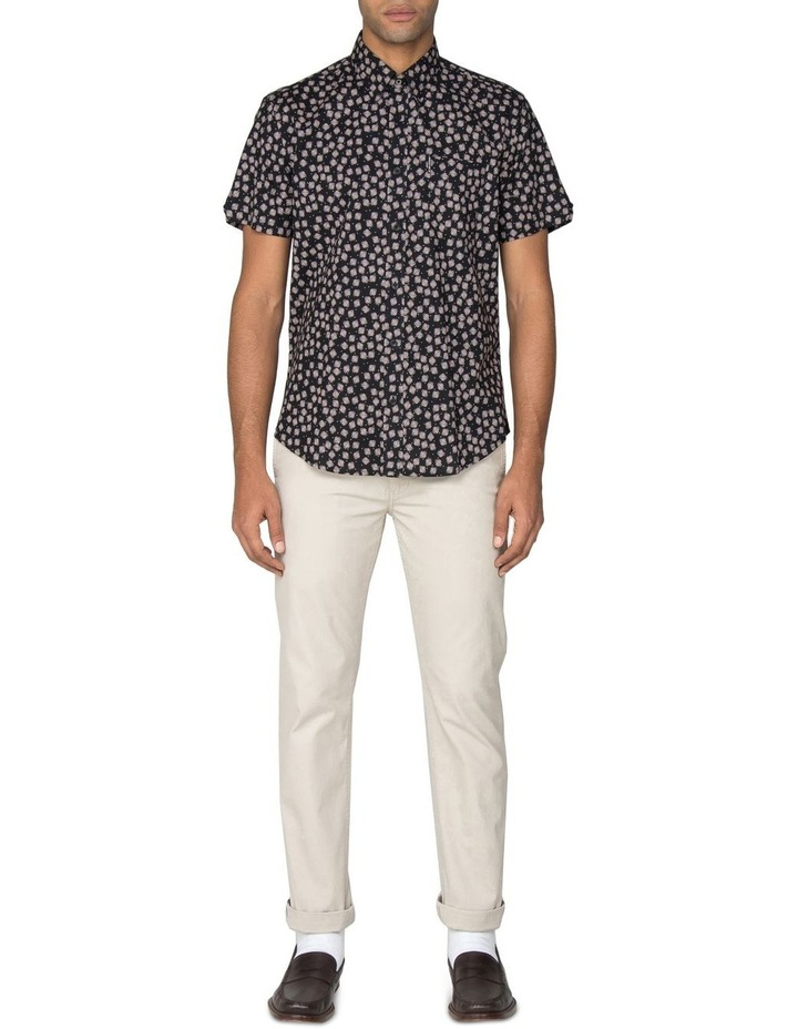 Scattered Scratch Geo Short Sleeve Shirt image 5