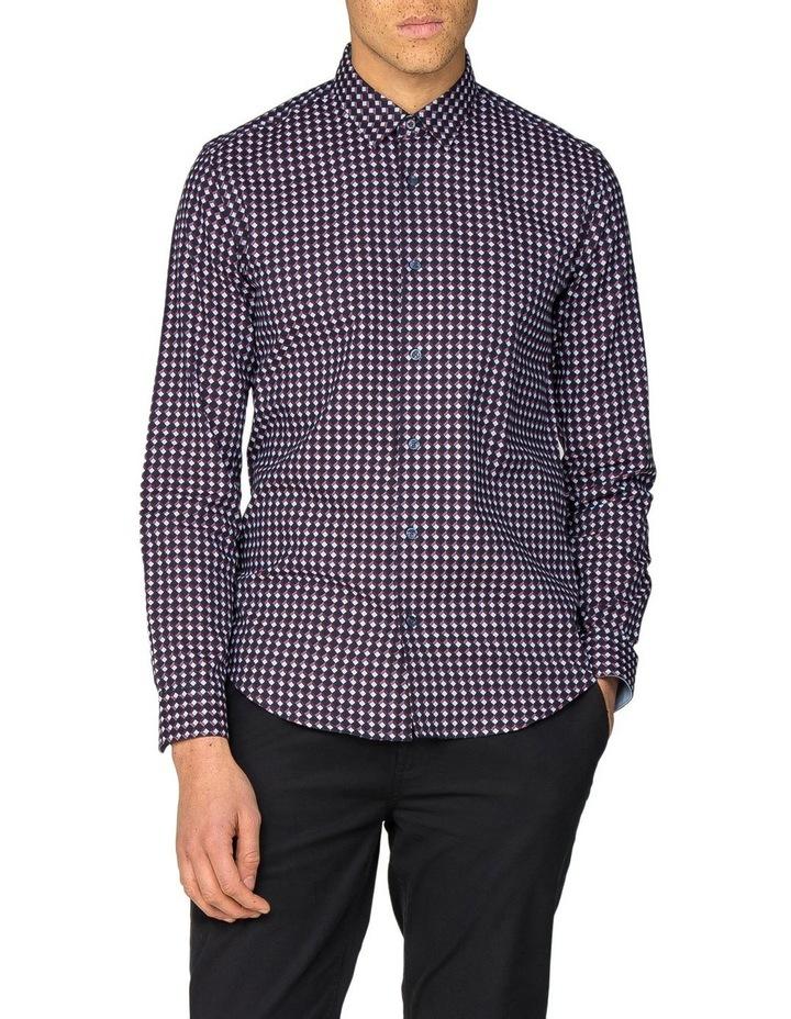 Oxford Geo Long Sleeve Shirt image 1
