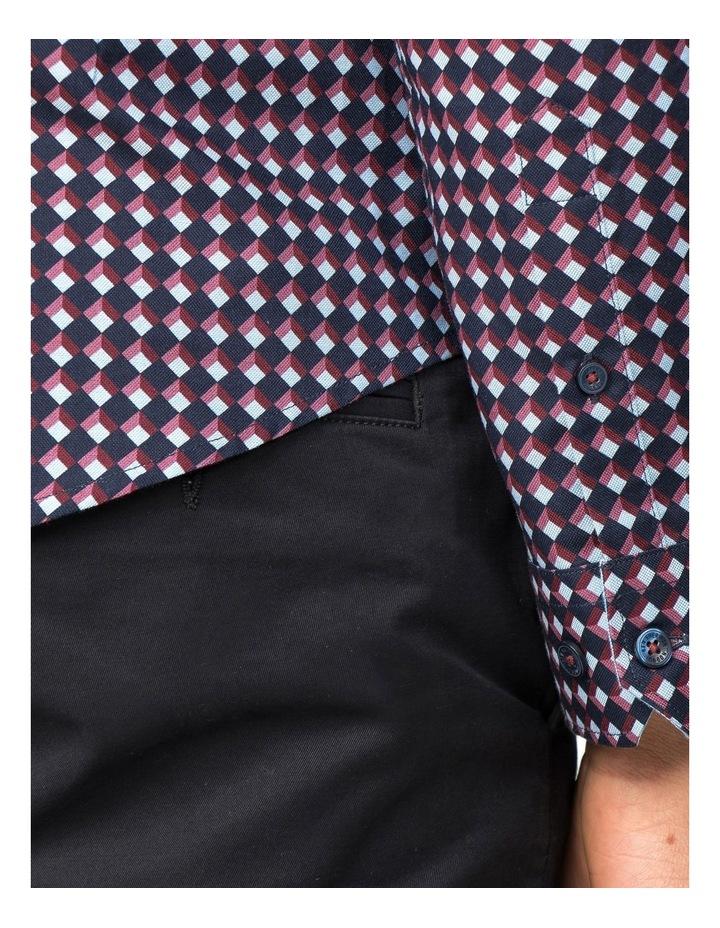 Oxford Geo Long Sleeve Shirt image 3