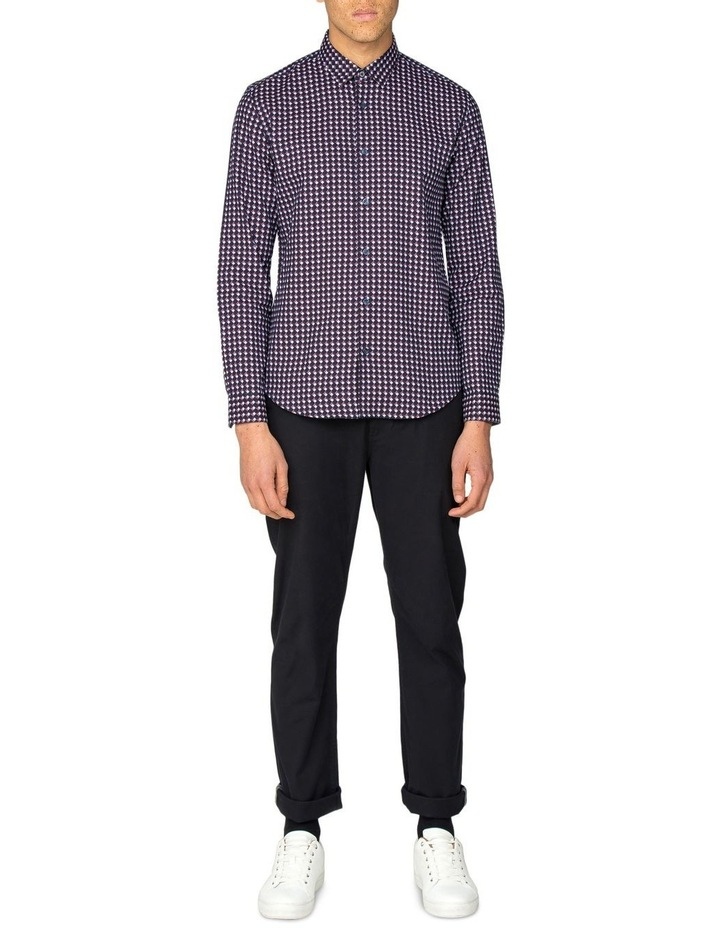 Oxford Geo Long Sleeve Shirt image 6