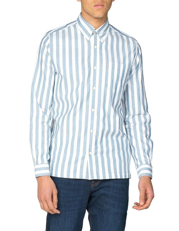 Oxford Ivy Stripe Long Sleeve Shirt image 1