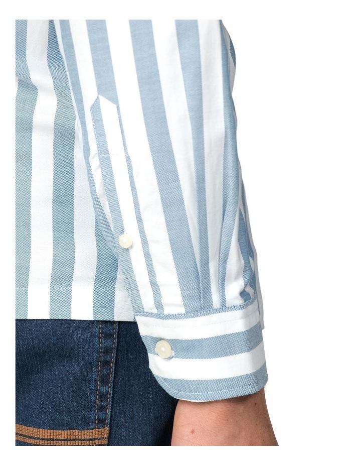 Oxford Ivy Stripe Long Sleeve Shirt image 3