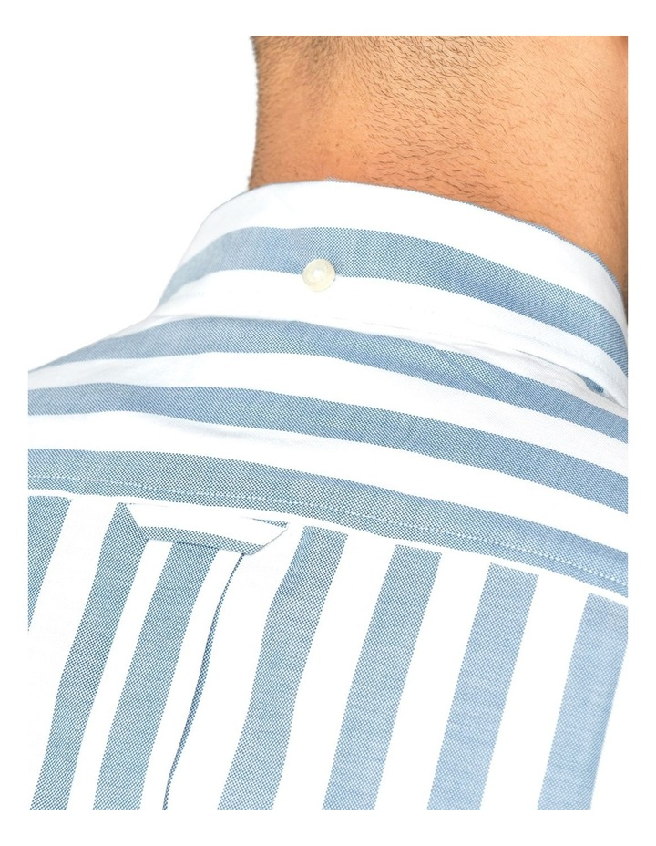 Oxford Ivy Stripe Long Sleeve Shirt image 4