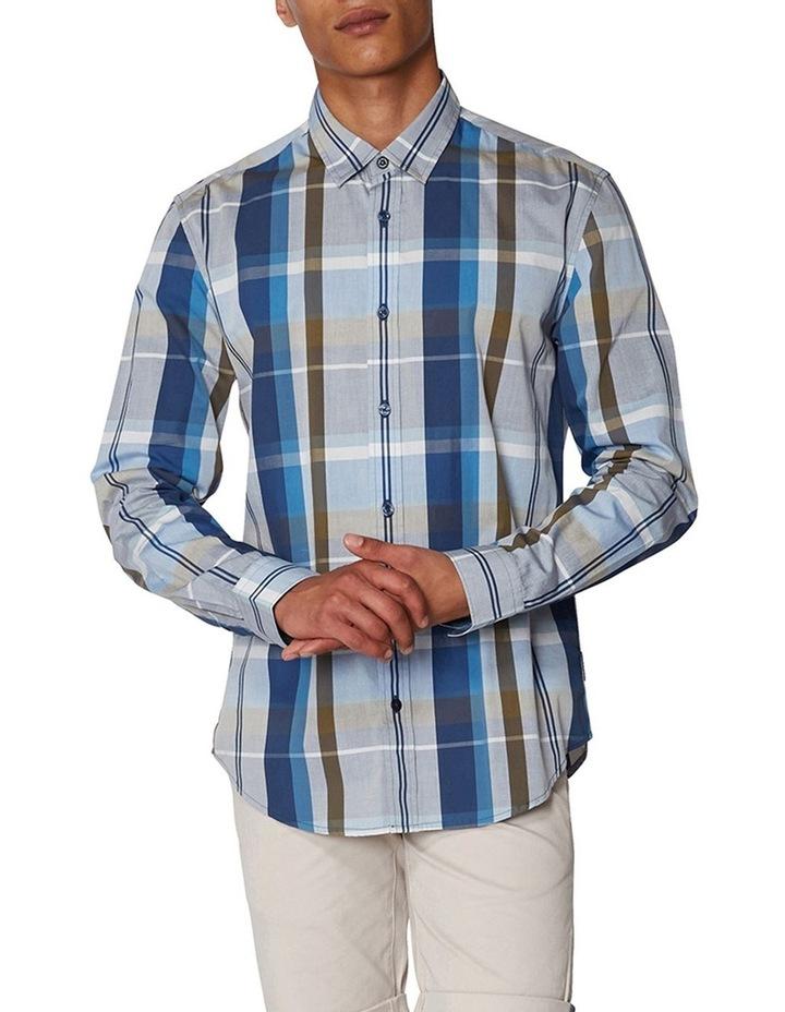 Madras Check Long Sleeve Shirt image 1
