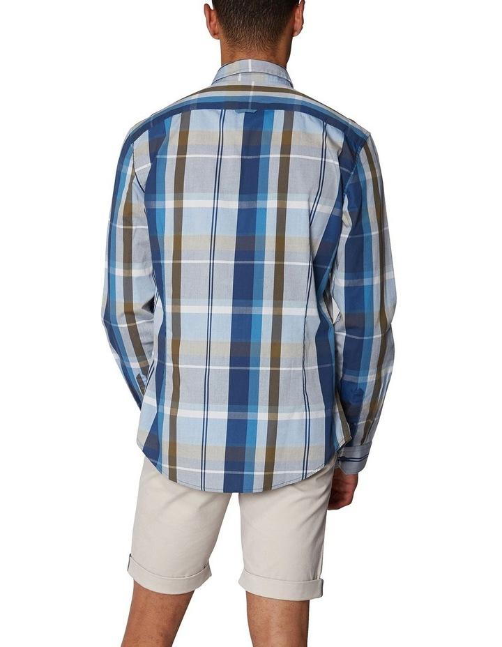 Madras Check Long Sleeve Shirt image 3