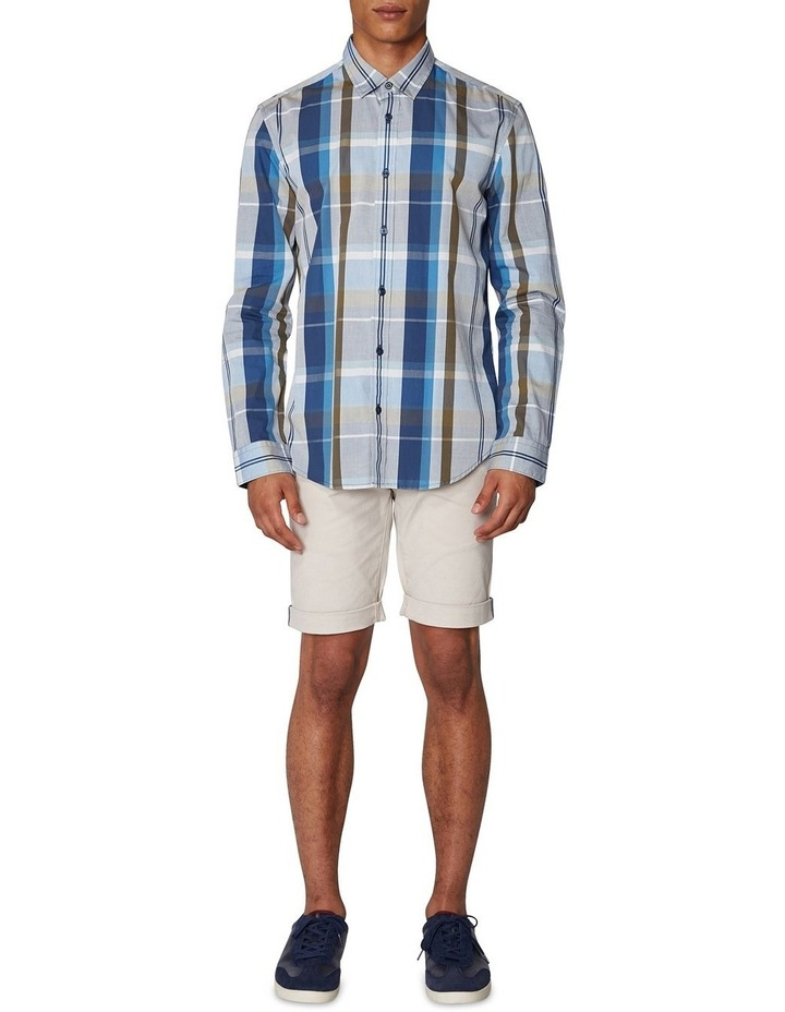Madras Check Long Sleeve Shirt image 6