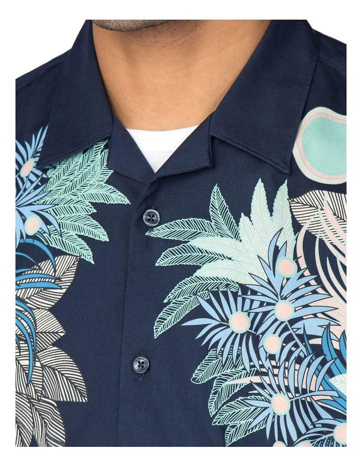 Viscose Foliage Print Short Sleeve Shirt image 2