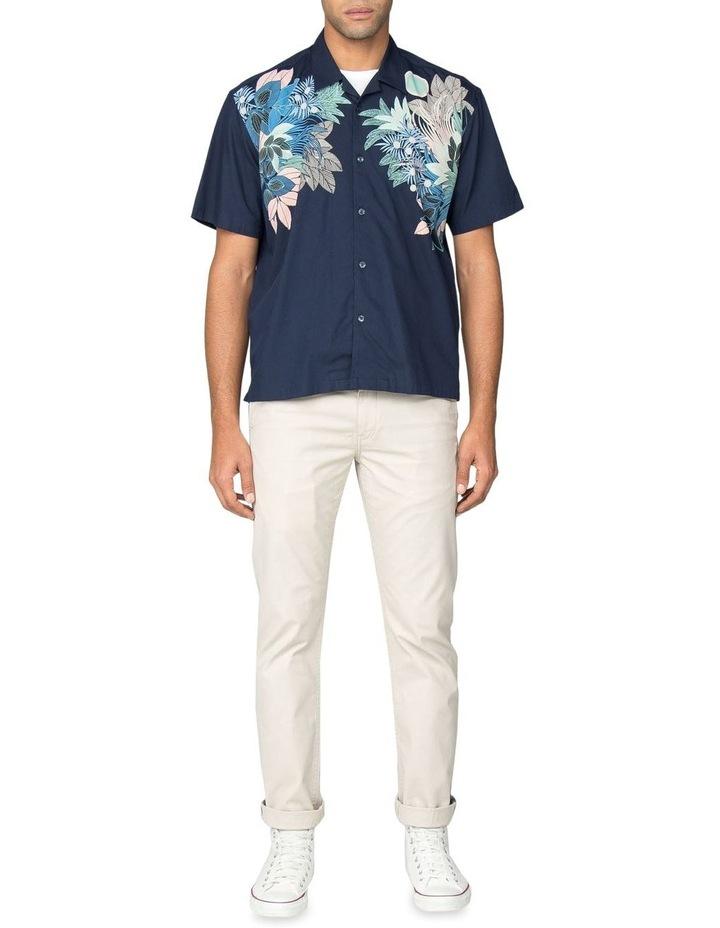 Viscose Foliage Print Short Sleeve Shirt image 5