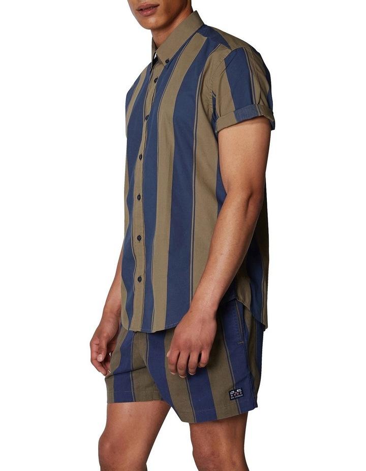 Graphic Stripe Short Sleeve Shirt image 2