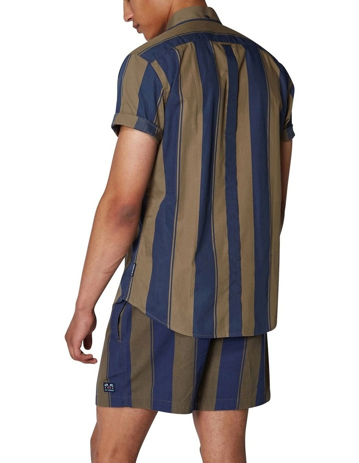 Graphic Stripe Short Sleeve Shirt image 3