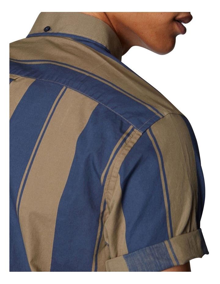 Graphic Stripe Short Sleeve Shirt image 5