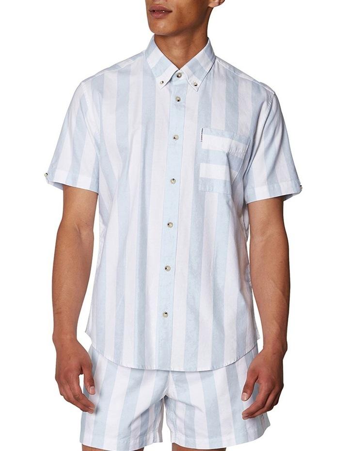 Candy Stripe Short Sleeve Shirt image 1