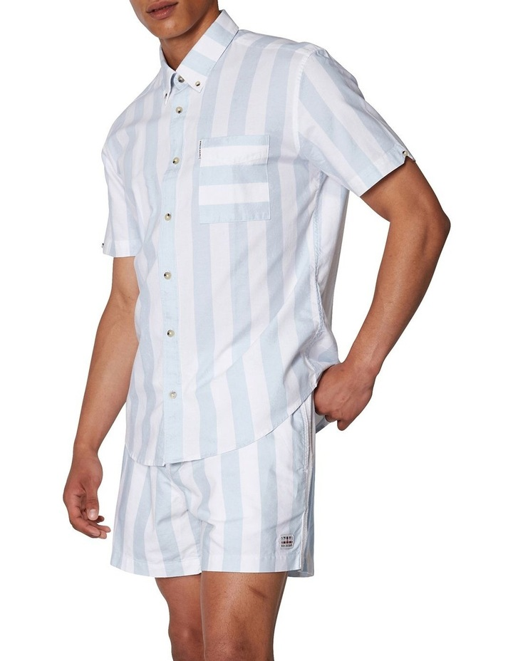 Candy Stripe Short Sleeve Shirt image 2