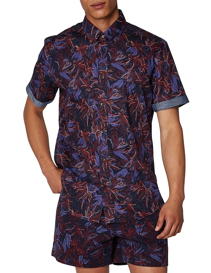 Tropical Floral Short Sleeve Shirt image 1