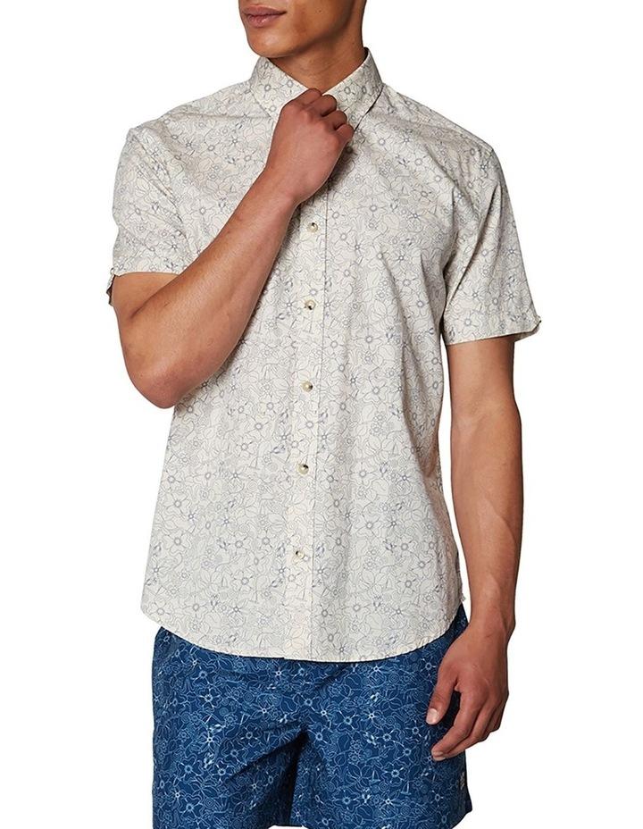 Retro Floral Short Sleeve Shirt image 1