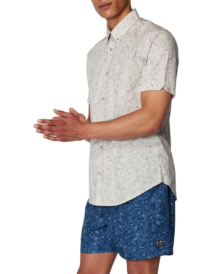 Retro Floral Short Sleeve Shirt image 2