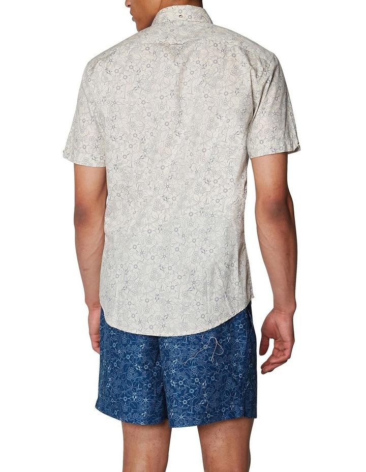 Retro Floral Short Sleeve Shirt image 3