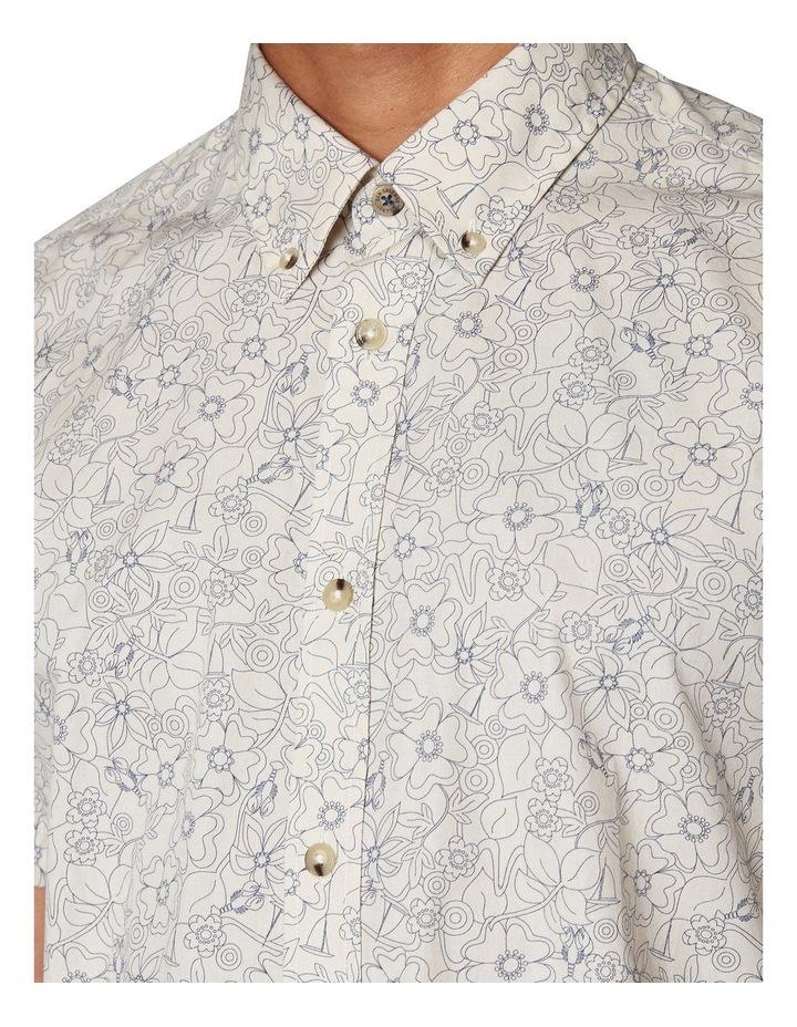 Retro Floral Short Sleeve Shirt image 4