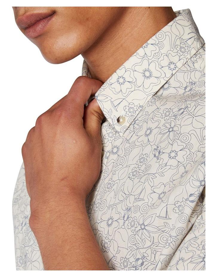 Retro Floral Short Sleeve Shirt image 5