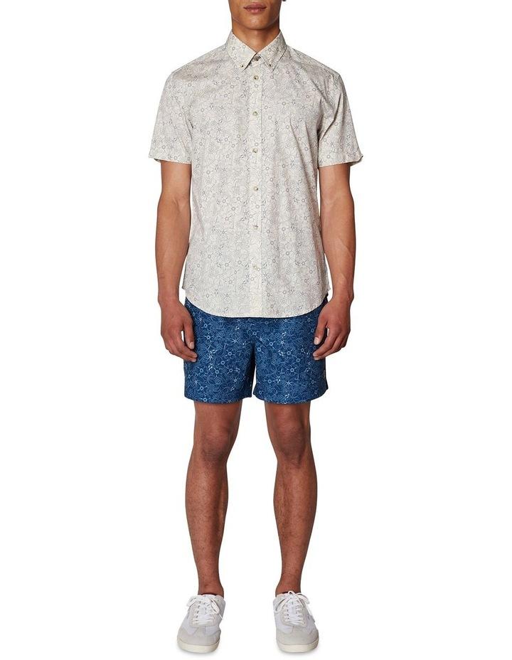 Retro Floral Short Sleeve Shirt image 6