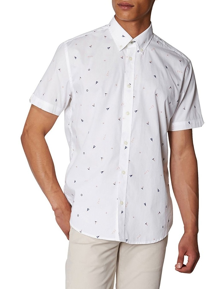 Nautical Print Short Sleeve Shirt image 1