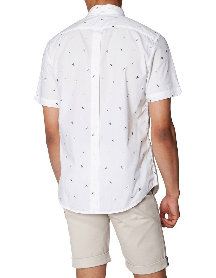 Nautical Print Short Sleeve Shirt image 3
