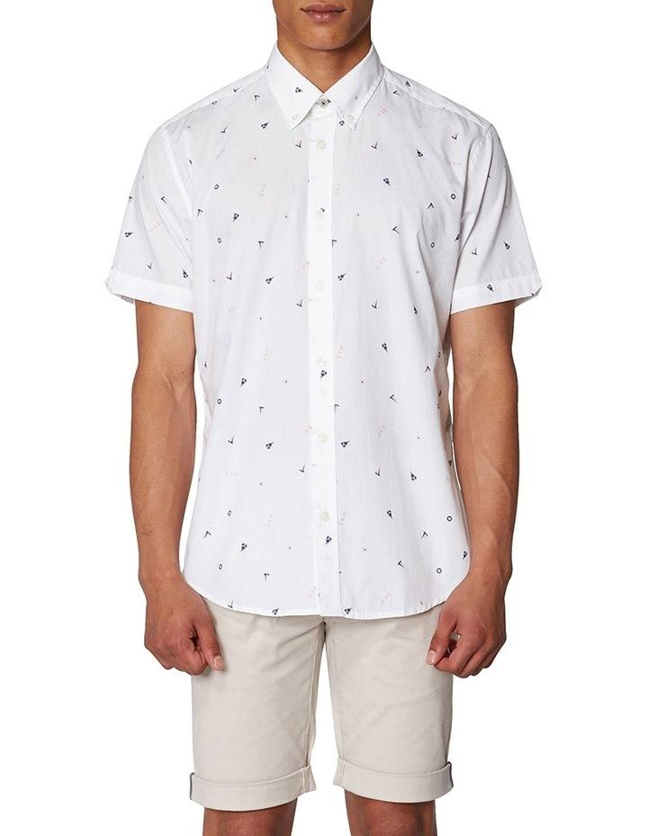 Nautical Print Short Sleeve Shirt image 6