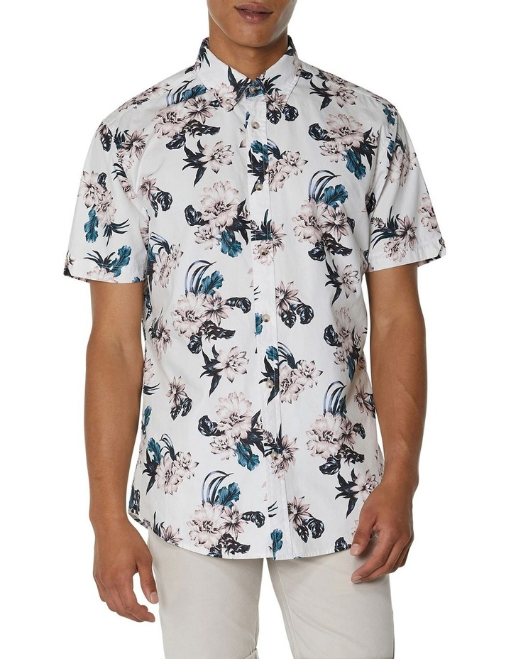 Large Scale Floral Short Sleeve Shirt image 1